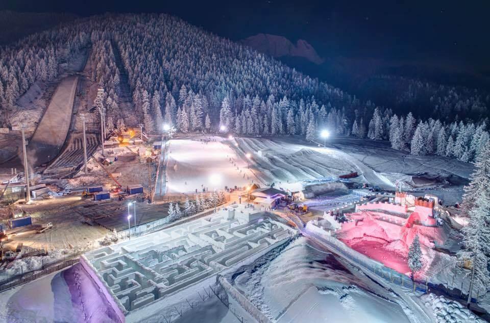 Snowlandia – największy na świecie śnieżny labirynt