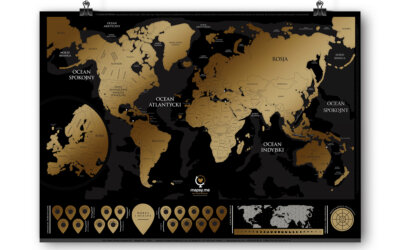 Mapa zdrapka – prezent roku. Konkurs!