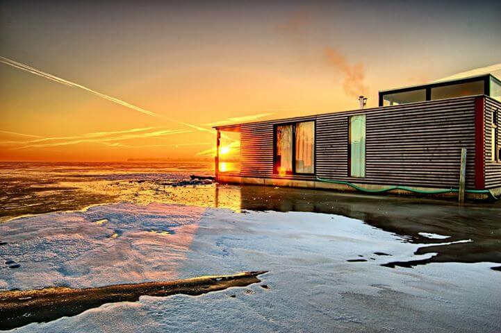 KONKURS! Całoroczne domki na wodzie w Mielnie