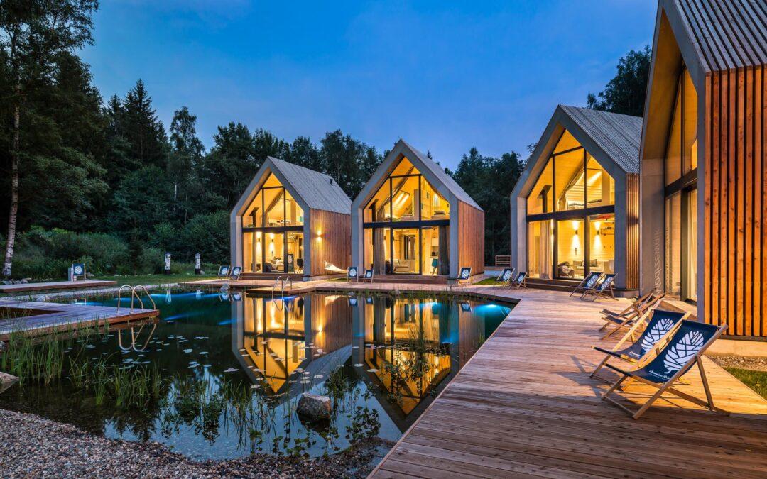Klimatyczne domki w górach